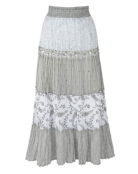 Embrose Maxi together tiered maxi skirt ambrose wilson