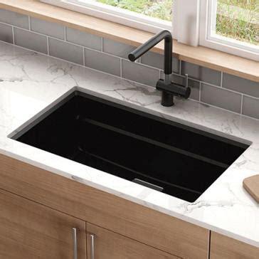 franke granite kitchen sink franke pkg11031 peak 32 quot granite kitchen sink