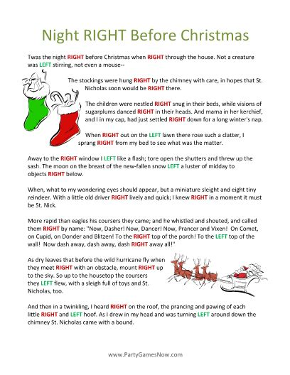 left right across gift exchange story free printable left right free printable gaming and free