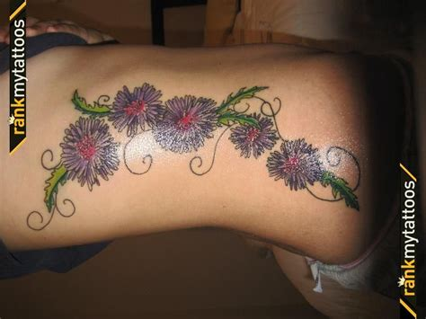 aster flower tattoo designs 17 best ideas about aster flower tattoos on