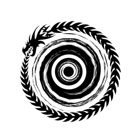 ouroboros tattoo design ouroboros by hyliian on deviantart