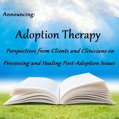 adopt a therapy announcing a new writing project adoption and therapy dennis