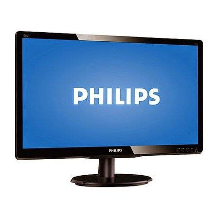 Led Monitor Philips monitor and led on