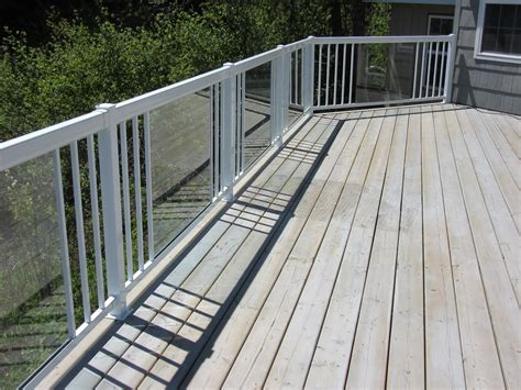 Tempered Glass Railing tempered glass