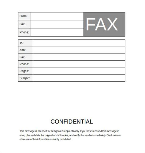 sle cover sheet 12808 business fax cover sheet template fax covers