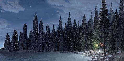 light flurries by rob gonsalves an optical illusion