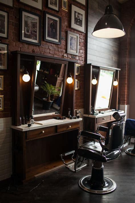 interior barbershop 25 best ideas about barber shop interior on pinterest