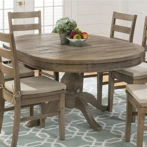 Jofran Dining Tables with Jofran Reclaimed Pine To Oval Dining Table Beyond Stores