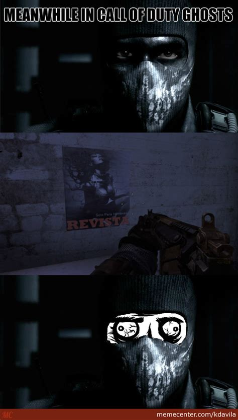 Call Of Duty Ghosts Meme - meanwhile in fap on duty ghosts by kdavila meme center