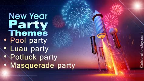 themes of new year new year s eve party themes