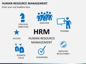human resource management powerpoint template sketchbubble