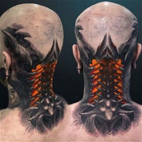 biomechanical neck tattoo biomechanical tattoos best tattoo ideas gallery
