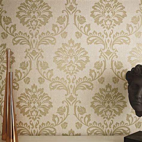 glitter wallpaper graham and brown graham brown aurora damask pattern textured glitter