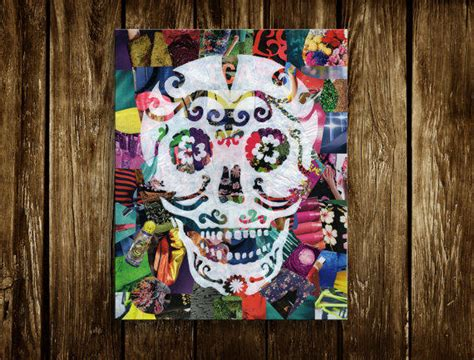 dia de los muertos bedroom day of the dead sugar skull bohemian from artpoptart on etsy