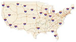 us map with interstate numbers former numbered highways