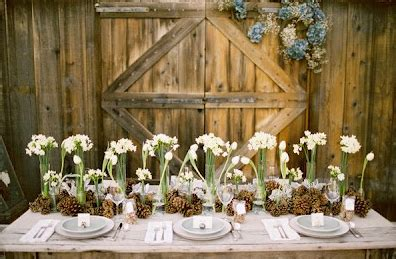 imagenes navideñas rusticas centros de mesa para mi boda con pi 241 as navide 241 as