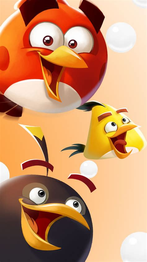 angry birds winter phone wallpapers  holidays