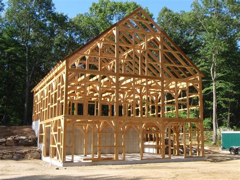Post And Beam Sheds by File Beautiful Post And Beam Barn Jpg