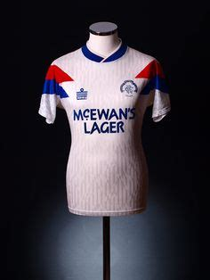 Glasgow Rangers Away 1987 1990 Jersey Original ranger and shirts on