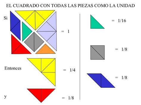 tangram cuadrado actividades con el tangram