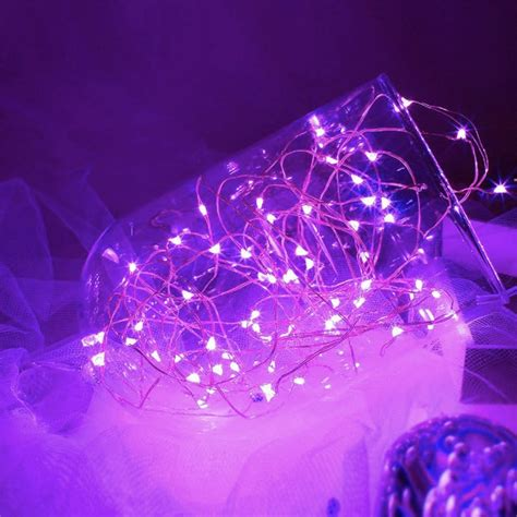 Moppels Lovely Led Lights Shiny Shiny by 1m 2m 3m Cr2032 Button Cell Battery Operated Invisible