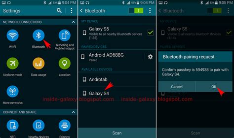 bluetooth settings android android bluetooth settings images