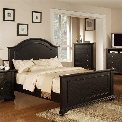 brook bedroom set picket house furnishings brook panel bed in black bp800xbb