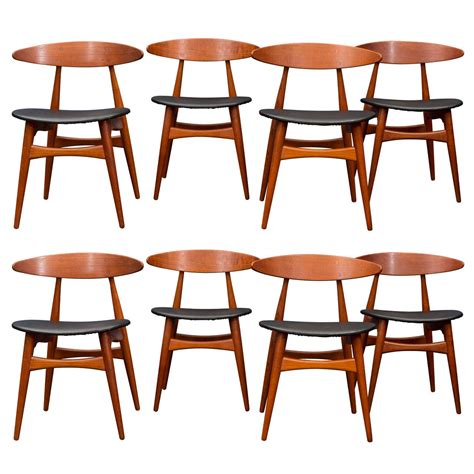 hans wegner ch33 dining chairs for sale at 1stdibs