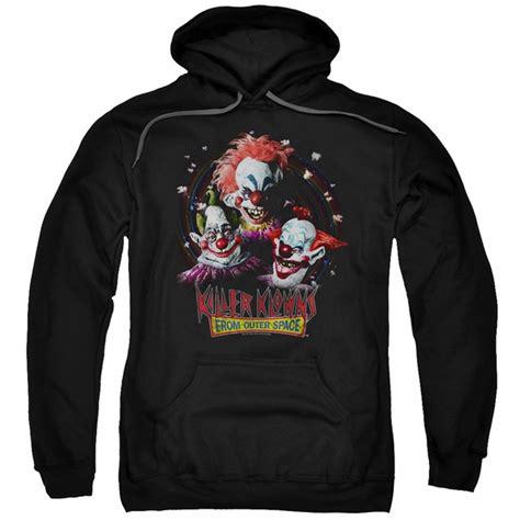 Hoodie Killers killer klowns from outer space hoodie killer klowns black