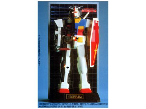 1 72 rx 78 gundam mechanical model by bandai hobbylink