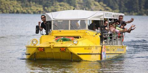 duck boat rotorua rotorua duck tours activities everything new zealand