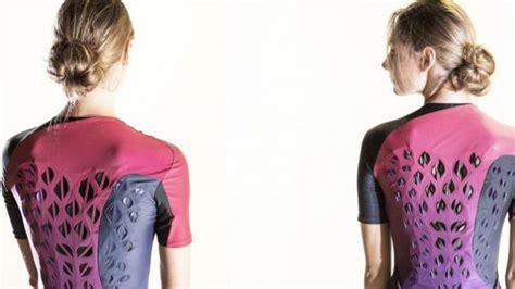 Baju Olahraga Keringat ini rancangan baju olahraga masa depan tak akan basah walau keringat mengucur tribuntravel