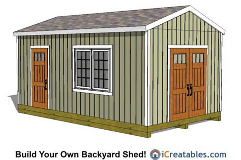 How To Build A 12x20 Storage Shed 12x20 large storage shed plans 12x20 shed plans