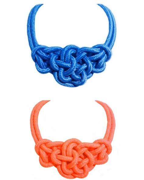 nudos de collares collar de nudos marineros pulseras y brazaletes