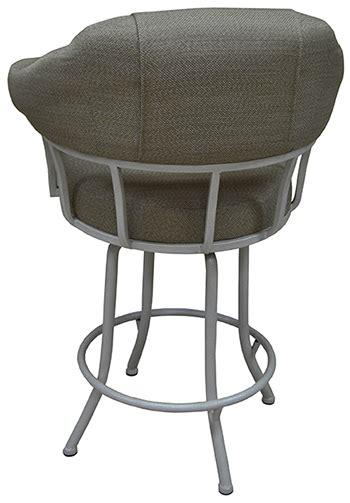 bar stools unlimited tobias m90 swivel stool with noam base dinettes unlimited