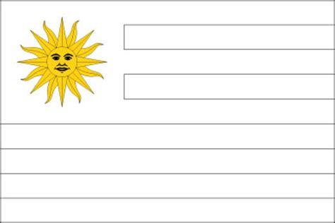 Uruguay Flag Outline by Uruguay Flag Flag Of Uruguay