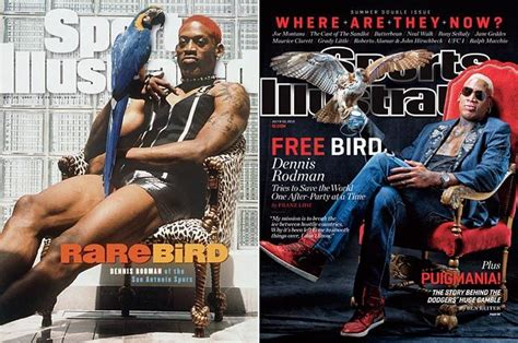 Banks Recreates Sports Illustrated Cover by 2013 Sports Illustrated Covers Dennis Rodman July 8 15