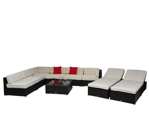 9 piece sectional sofa 9 piece outdoor wicker sectional sofa set