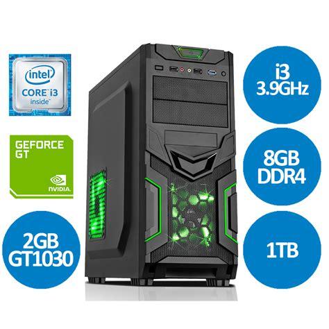 Intel I3 7100 3 9ghz intel i3 7100 3 9ghz dual 8gb 1tb amd rx 460 gaming pc ms v14 fast delivery ebay