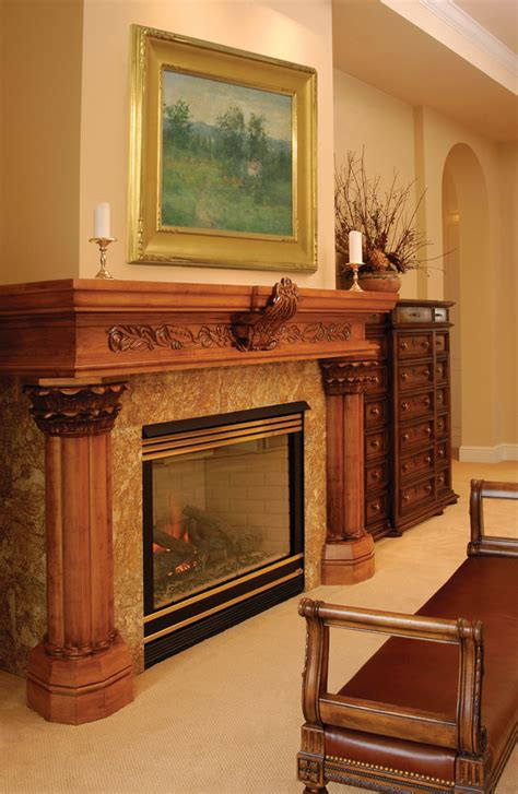 wrap around fireplace mantel entrancing interior home