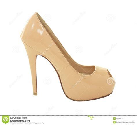 Heels Beige beige high heels stock images image 25936414