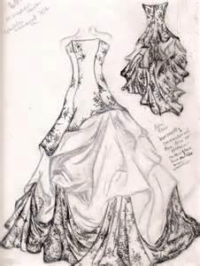 Free Wedding Dress Sketches » Home Design 2017