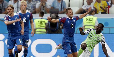 hasil pertandingan nigeria vs islandia skor 2 0 bola net