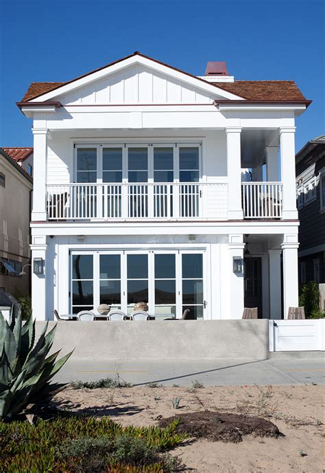 cape  inspired beach cottage home bunch interior