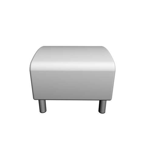 ikea klippan ottoman klippan footstool design and decorate your room in 3d