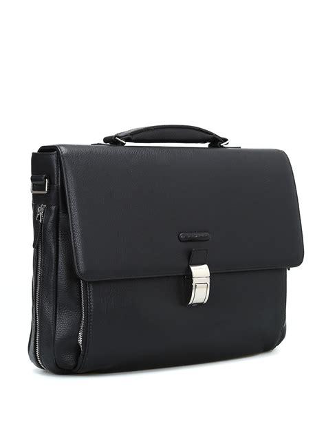borse da ufficio piquadro cartella nera in vitello pregiato piquadro borse da