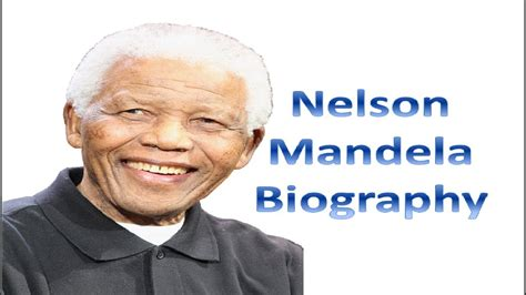 a brief biography of nelson rolihlahla mandela nelson mandela biography youtube
