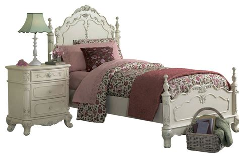 cinderella collection bedroom set homelegance cinderella 3 piece kids poster bedroom set in white traditional kids
