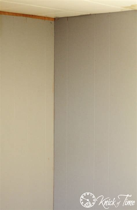 Thin Wainscoting Panels How To Install A Wood Plank Wall And My Quot Dear