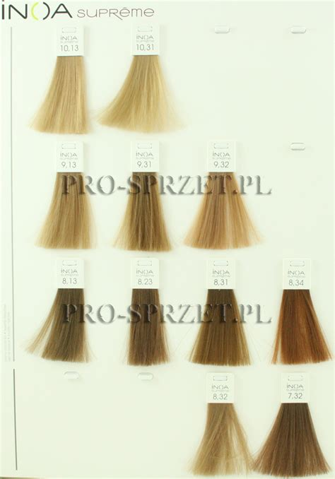 inoa supreme colour chart loreal hair highlights diy hd brown hairs
